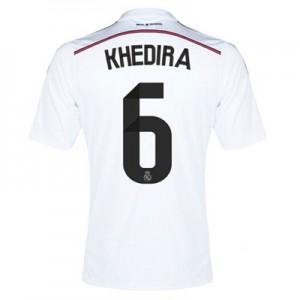 Camiseta nueva Real Madrid Khedira Equipacion Primera 2014/2015