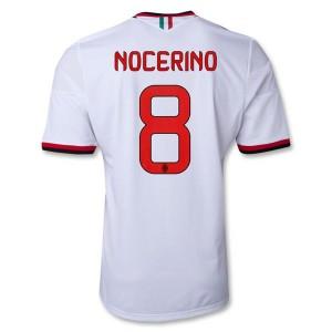 Camiseta nueva AC Milan Nocerino Equipacion Segunda 2013/2014