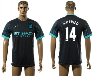 Camiseta del 14# Manchester City Away aaa version