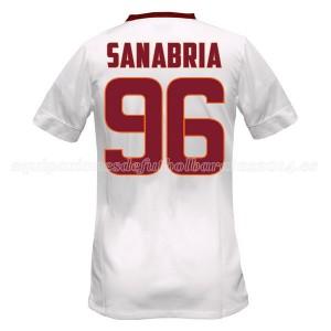 Camiseta de AS Roma 2014/2015 Segunda Sanabria Equipacion