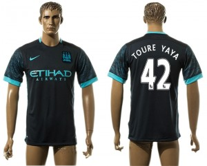 Camiseta de Manchester City Away 42# aaa version