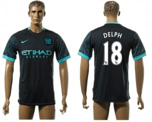 Camiseta Manchester City 18# Away aaa version