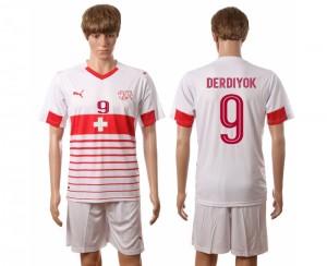 Camiseta Suiza Nombre DERDIYOK 2016/2017