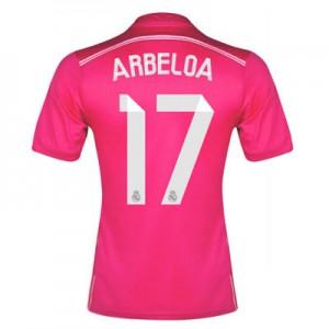 Camiseta nueva del Real Madrid 2014/2015 Equipacion Arbeloa Segunda