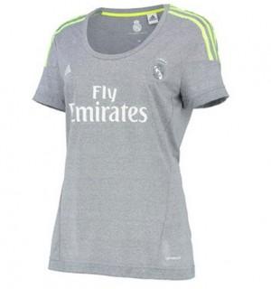 Camiseta nueva Real Madrid Mujer Equipacion Segunda 2015/2016