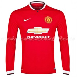 Camiseta nueva Manchester United ML 1a 2014/2015