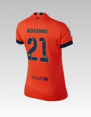 Camiseta de Barcelona 2013/2014 Tercera Bartra Equipacion