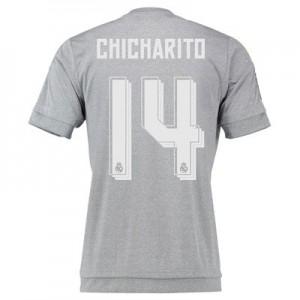 Camiseta del Numero 14 CHIC Real Madrid Segunda Equipacion 2015/2016