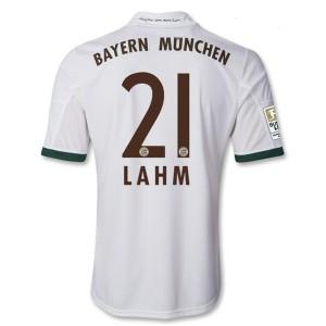 Camiseta nueva Bayern Munich Lahm Equipacion Tercera 2013/2014