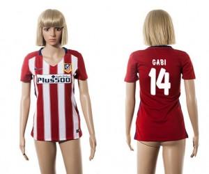 Camiseta de Atletico Madrid 2015/2016 14 Mujer