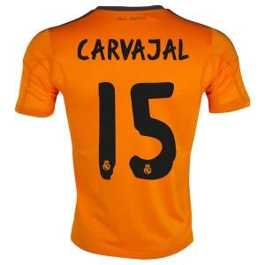 Camiseta del Carvajal Real Madrid Tercera Equipacion 2013/2014
