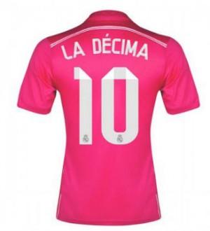 Camiseta Real Madrid Decima Segunda Equipacion 2014/2015