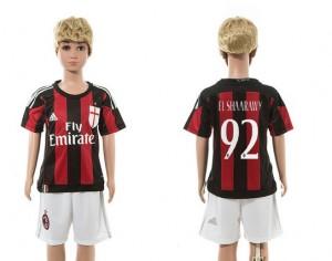 Camiseta nueva del AC Milan 2015/2016 92 Niños