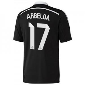 Camiseta del Arbeloa Real Madrid Tercera Equipacion 2014/2015