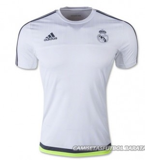 Camiseta de Real Madrid 2015/2016 Entrenamiento Blanco