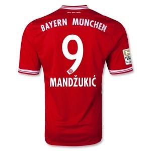 Camiseta del Mandzukic Bayern Munich Primera 2013/2014