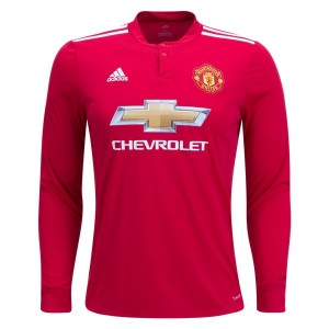 Camiseta nueva Manchester United Long Sleeve Home 2017/2018