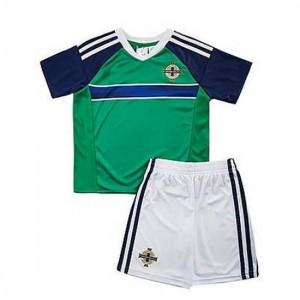 Camiseta de IRLANDA DEL NORTE 2016 Primera VERDE Niños