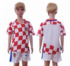 Camiseta de Croacia 2016 Primera Segunda Niños