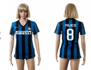 Camiseta nueva del Inter Milan 2015/2016 8 Mujer