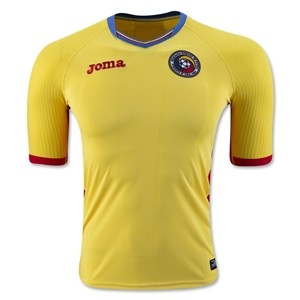 Camiseta de Rumania 2016/2017 Home