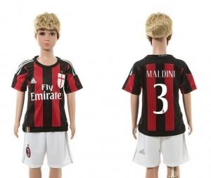 Camiseta de AC Milan 2015/2016 3 Niños