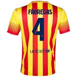 Camiseta de Barcelona 2013/2014 Segunda Fabregas