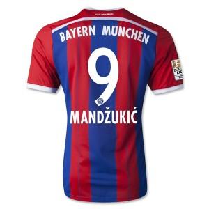 Camiseta nueva Bayern Munich Mandzukic Equipacion Primera 2014/2015