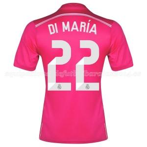 Camiseta nueva Real Madrid Di Maria Equipacion Segunda 2014/2015