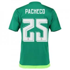 Camiseta nueva Real Madrid Numero 25 PACH Equipacion Segunda 2015/2016