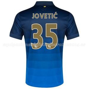 Camiseta Manchester City Jovetic Segunda 2014/2015