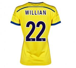 Camiseta de Chelsea 2014/2015 Segunda Equipacion Mujer
