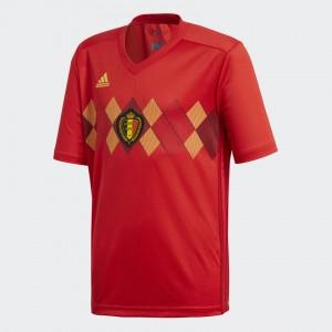 Camiseta nueva BELGIUM Juventud Home 2018