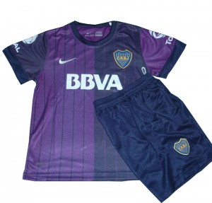 Camiseta de Boca Juniors 2013/2014 Primera Equipacion Nino