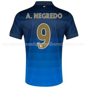 Camiseta nueva del Manchester City 2014/2015 A.Negredo Segunda
