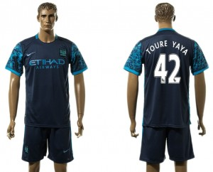 Camiseta Manchester City 42# Away