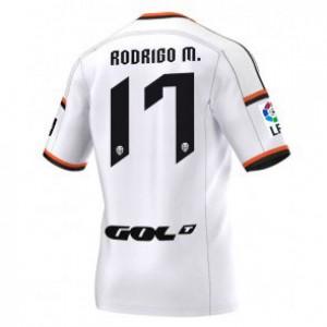 Camiseta nueva Valencia Rodrigo Equipacion Primera 2014/2015