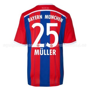 Camiseta nueva Bayern Munich Muller Equipacion Primera 2014/2015