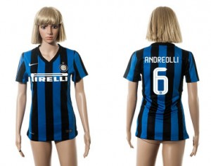 Camiseta nueva Inter Milan Mujer 6 2015/2016