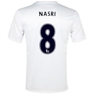 Camiseta del Nasri Manchester City Tercera 2013/2014
