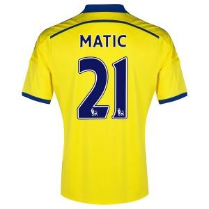 Camiseta del Matic Chelsea Segunda Equipacion 2014/2015