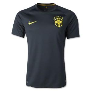 Camiseta del Brasil de la Seleccion Tercera WC2014