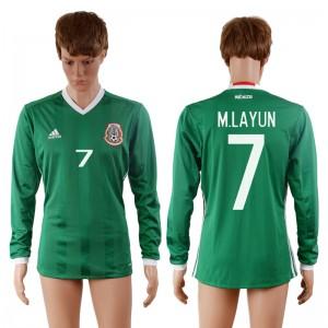 Camiseta de Mexico 2016-2017 7#