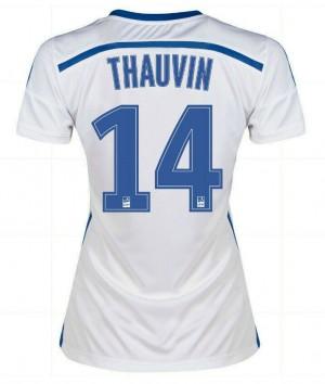 Camiseta de España de la Seleccion 2013 Primera Xavi