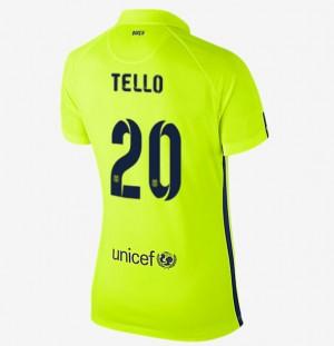 Camiseta de Barcelona 2013/2014 Segunda Cuenca