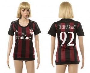 Camiseta de AC Milan 2015/2016 92 Mujer