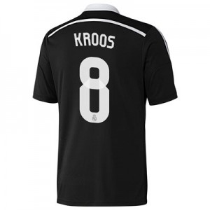 Camiseta del Kroos Real Madrid Tercera Equipacion 2014/2015