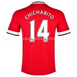 Camiseta nueva Manchester United Chicharito Primera 2014/2015