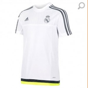 Camiseta Training del Junior Blanco Real Madrid 2015/2016