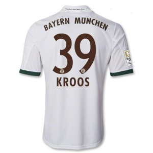 Camiseta nueva Bayern Munich Kroos Equipacion Tercera 2013/2014